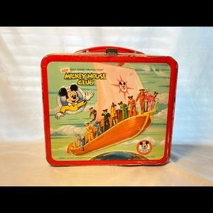 VTG mickymouse club lunchbox